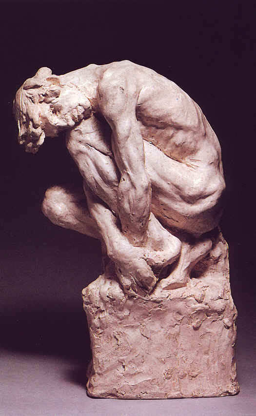 Camille Claudel, Homme accroupi
