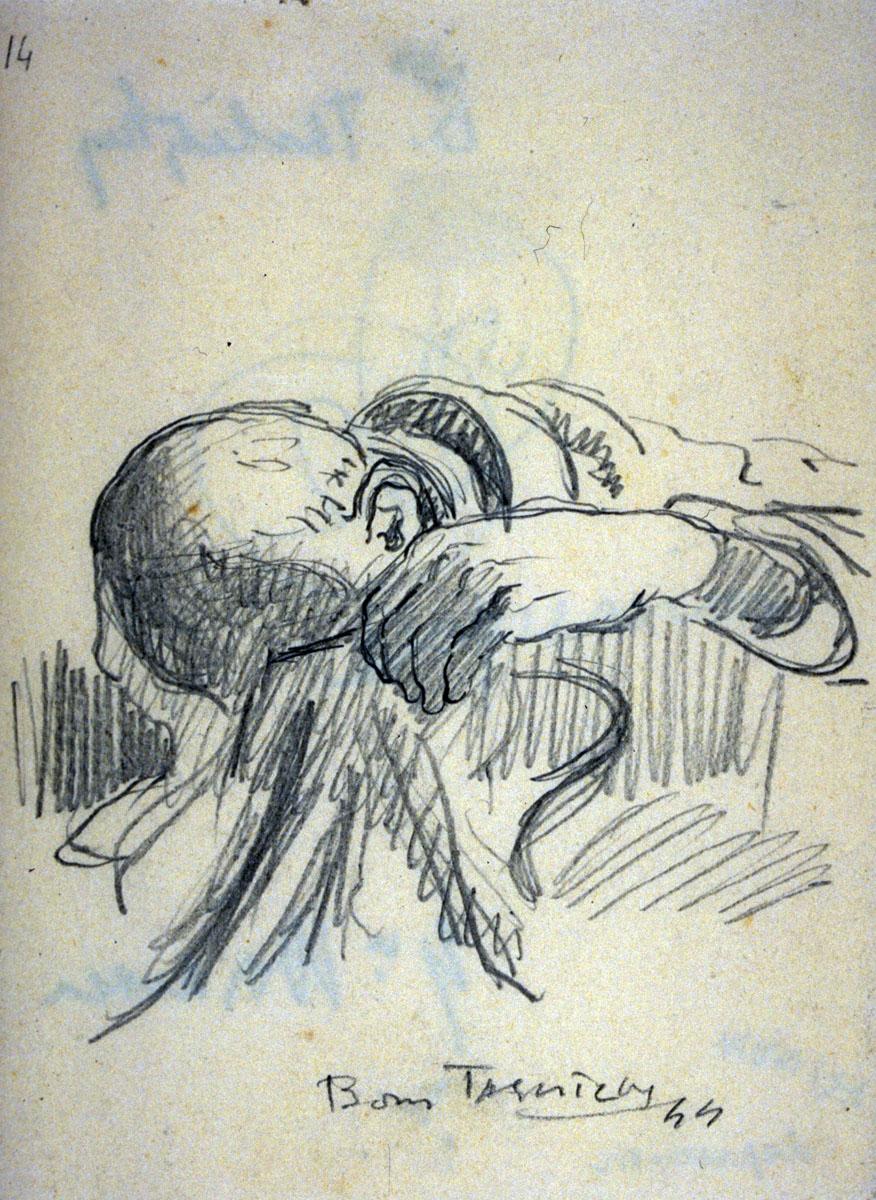 048-boris-Taslitzky-dessins-guerre-1944-Buchenwald