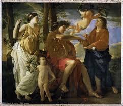 Poussin, Inspiration du poète