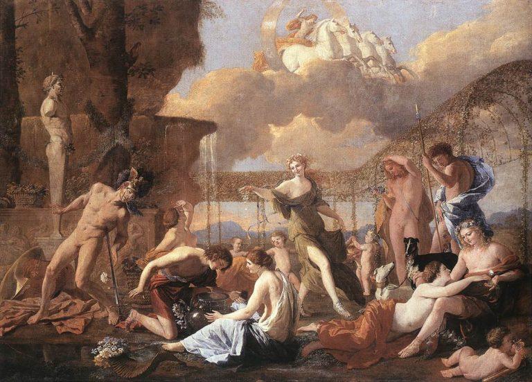 Poussin, Empire de Flora