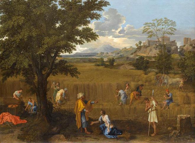 Poussin, Quatre saisons, L'été