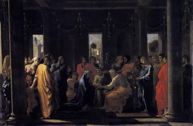 Poussin, Quatre sacrements, Mariage