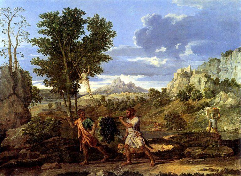 Poussin, Quatre saisons, L'Automne