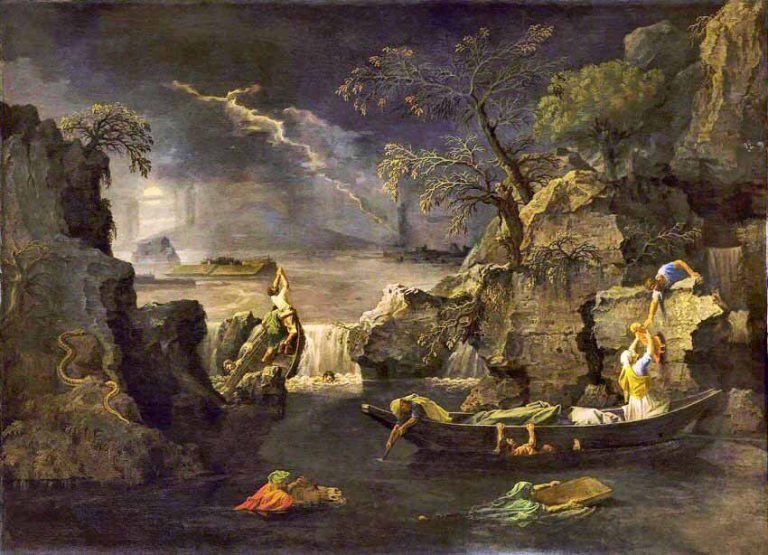 Poussin, Quatre saisons, Hiver
